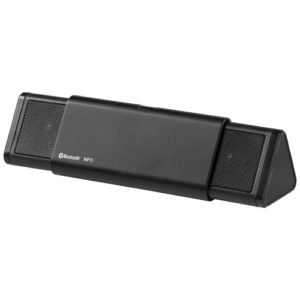 Колонка Sideswipe Bluetooth® и NFC, цвет black solid