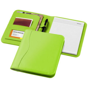 Папка Ebony A5, цвет apple green