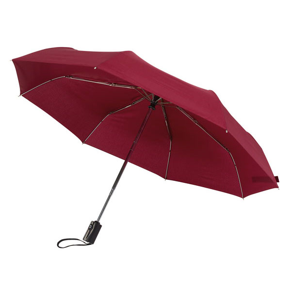 Automatic open/close pocket umbrella «Express», цвет bordeaux