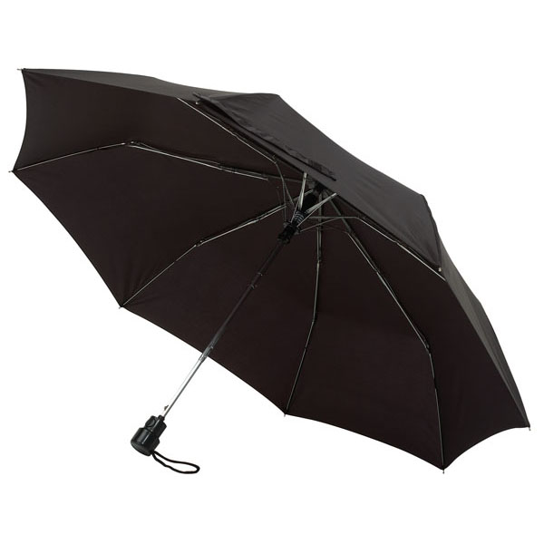 Automatic pocket umbrella «Prima», цвет black