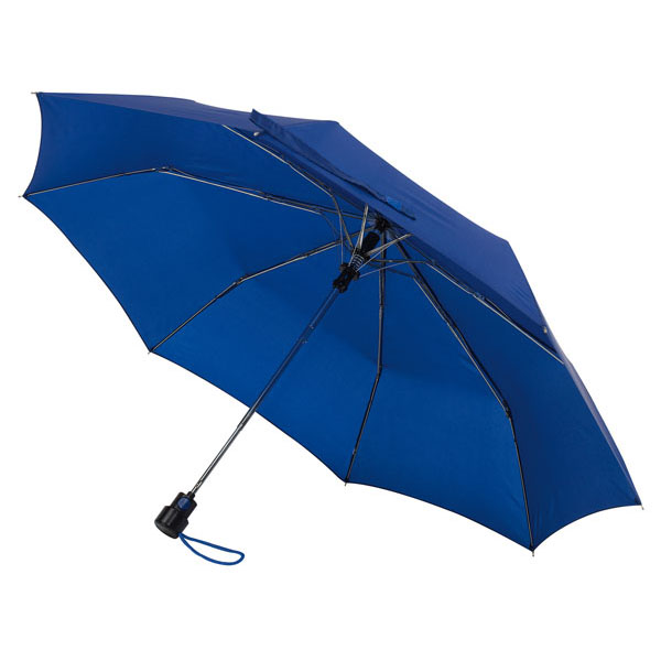 Automatic pocket umbrella «Prima», цвет blue