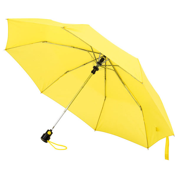 Automatic pocket umbrella «Prima», цвет yellow
