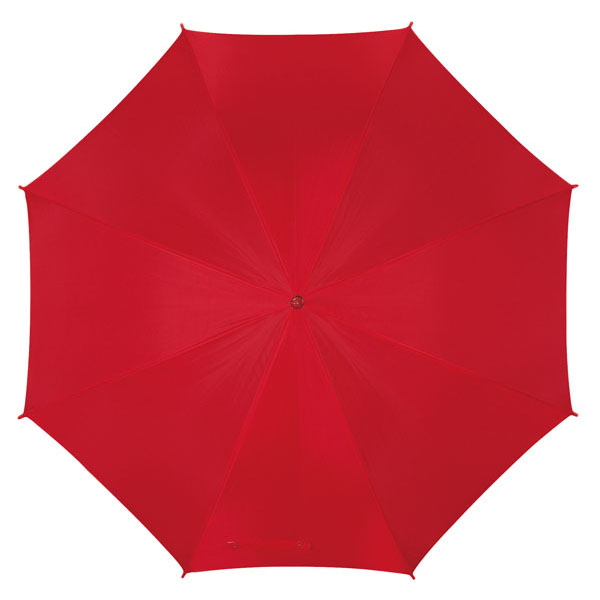 Automatic stick umbrella «Disco», цвет red