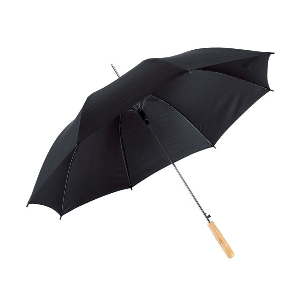 Automatic stick umbrella «Samba», цвет black