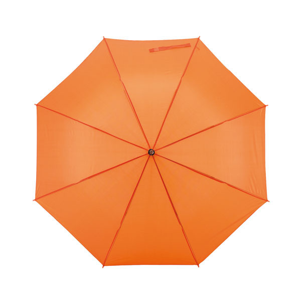 Automatic stick umbrella «Samba», цвет orange