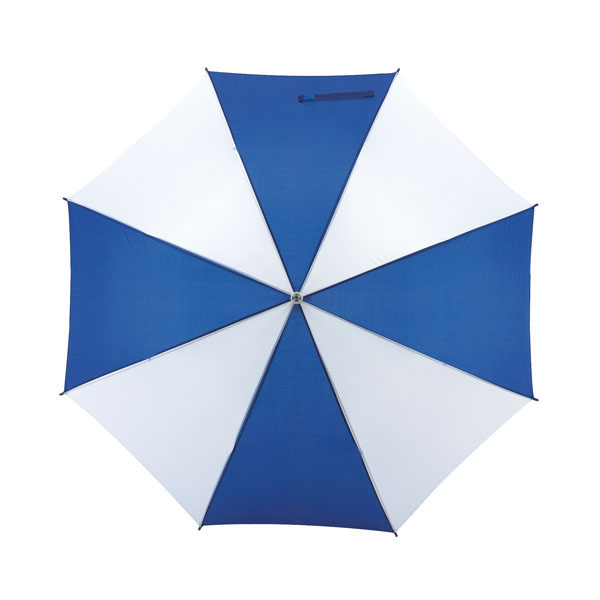 Automatic stick umbrella «Salsa», цвет blue white
