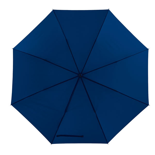 Automatic windproof stick umbrella «Wind», цвет navy