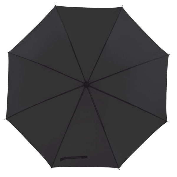 Automatic windproof stick umbrella «Wind», цвет black