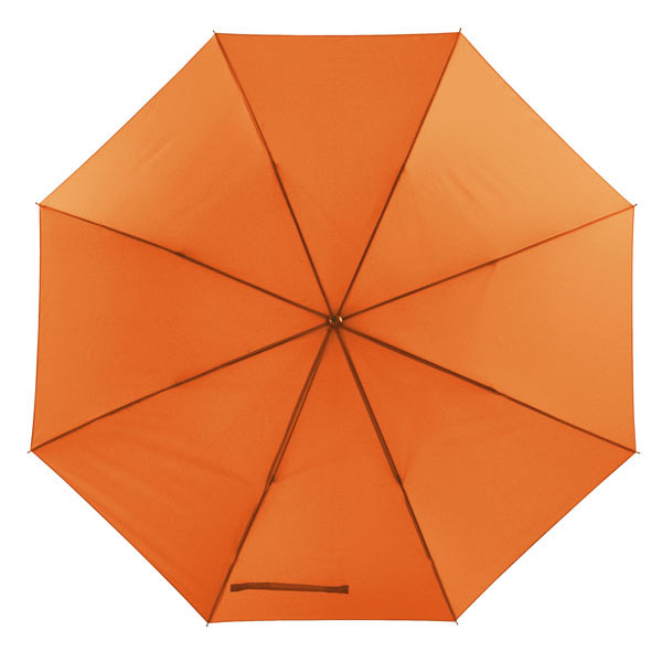 Automatic windproof stick umbrella «Wind», цвет orange