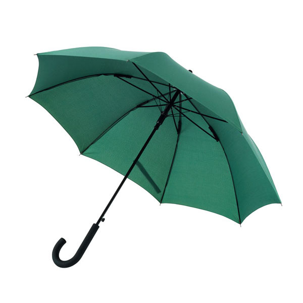 Automatic windproof stick umbrella «Wind», цвет dark green