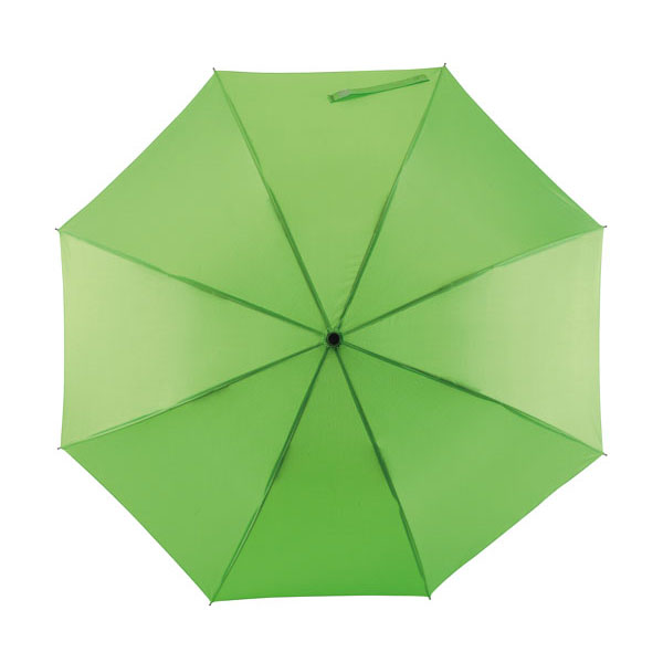 Automatic windproof stick umbrella «Wind», цвет light green