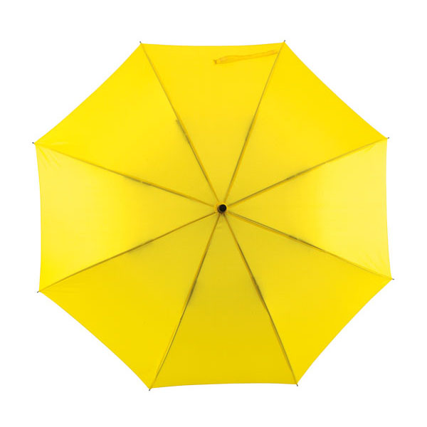 Automatic windproof stick umbrella «Wind», цвет yellow