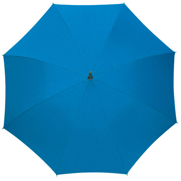 Automatic stick umbrella «Rumba», цвет azure blue