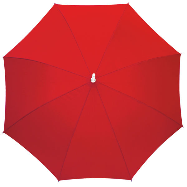 Automatic stick umbrella «Rumba», цвет red