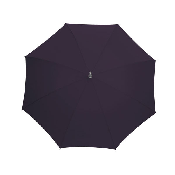 Automatic stick umbrella «Secret», цвет plum