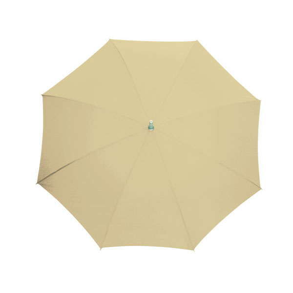 Automatic stick umbrella «Secret», цвет light beige