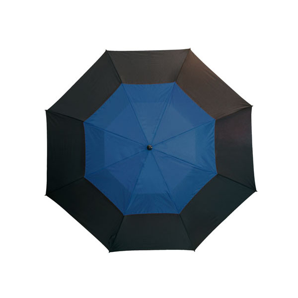 Fibreglass golf umbrella «Monsun», цвет black royal blue