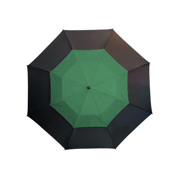 Fibreglass golf umbrella «Monsun», цвет black dark green