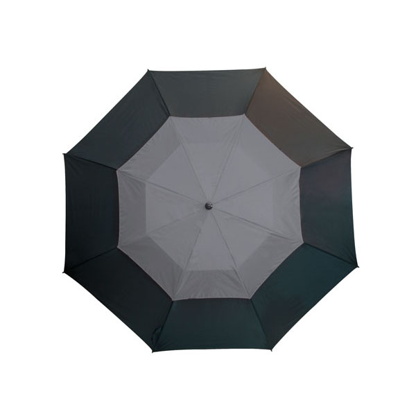 Fibreglass golf umbrella «Monsun», цвет black grey