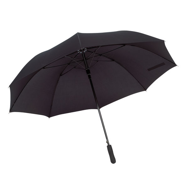 Automatic wind proof umbrella «Passat», цвет black