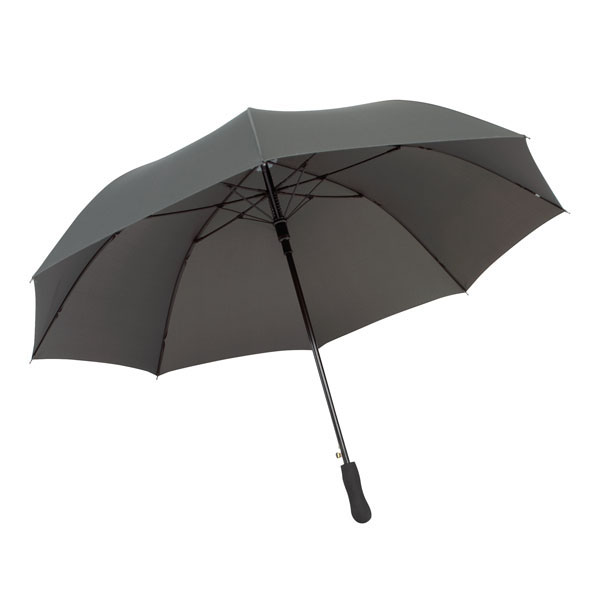 Automatic wind proof umbrella «Passat», цвет grey