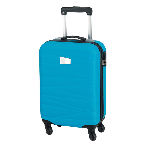 Trolley board case «Padua», цвет turquoise