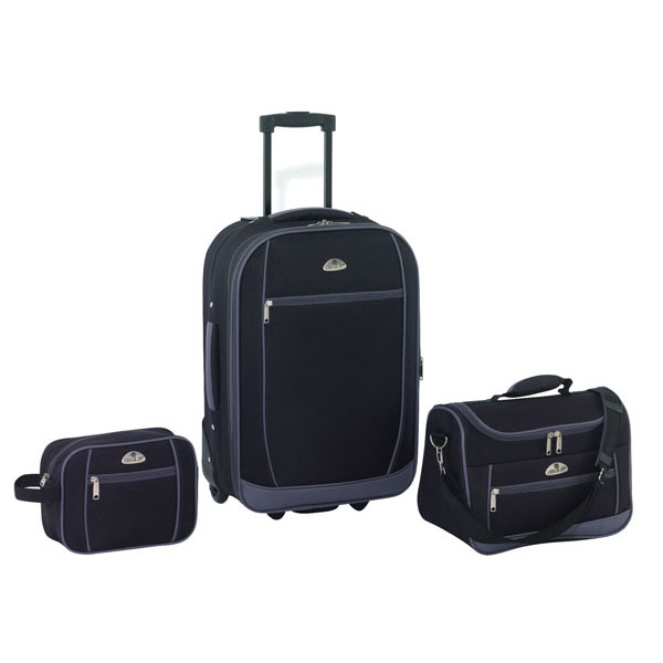 Travelling set «Liverpool», цвет black grey