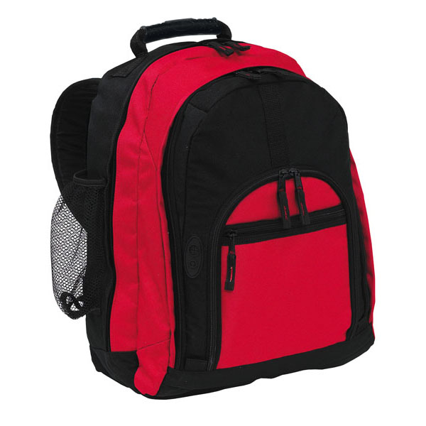 Backpack «New Classic», цвет black red