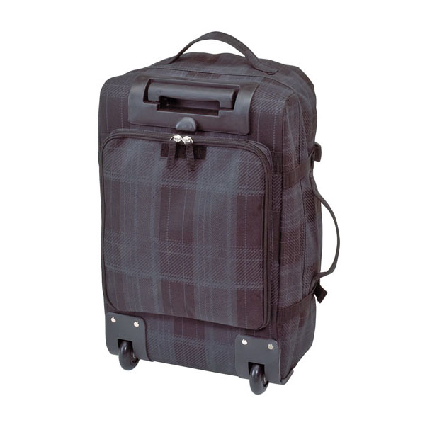 Trolley backpack «Checker», цвет black