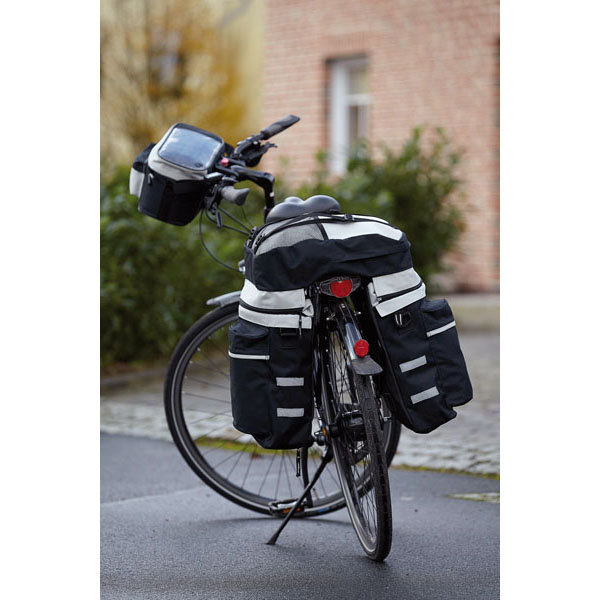 "3 piece travel set «Bike"", цвет black grey"