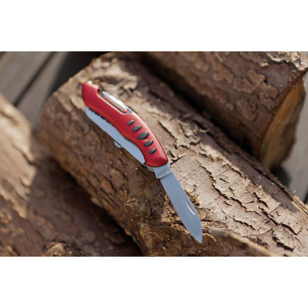 11 piece pocket knife «Big R.», цвет red silver