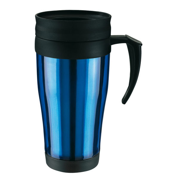 Double-walled cup «Warm-up», цвет blue
