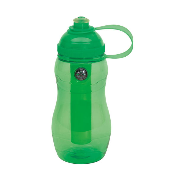 Drinking bottle «On track», цвет green