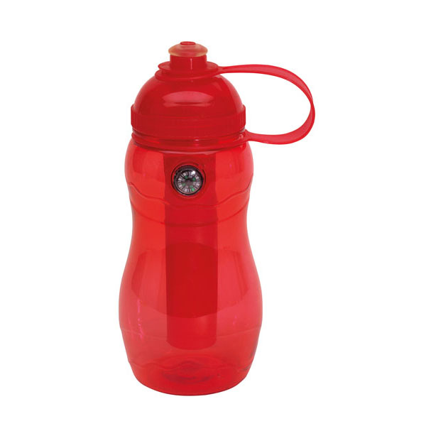 Drinking bottle «On track», цвет red