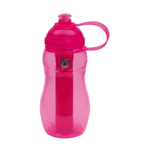 Drinking bottle «On track», цвет pink
