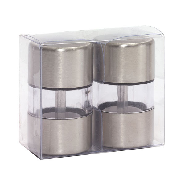 Salt and pepper shaker set «Spice Flavour», цвет silver