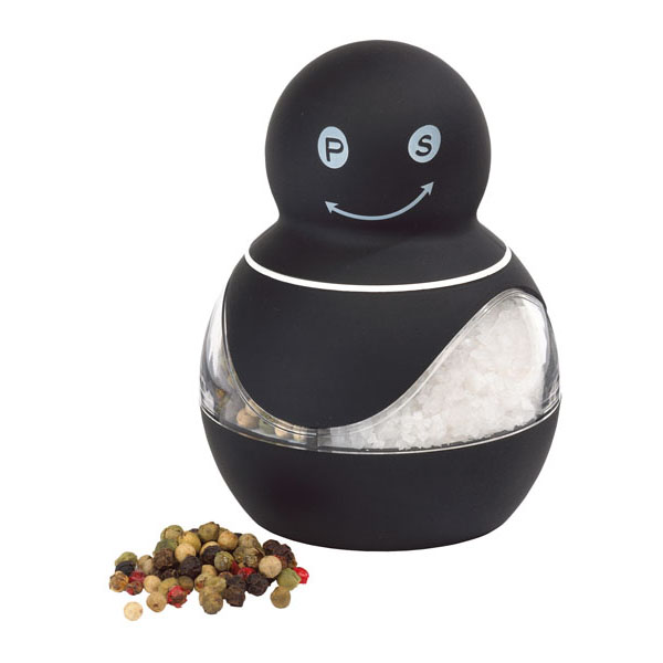 Salt and pepper mill «Innovation», цвет black