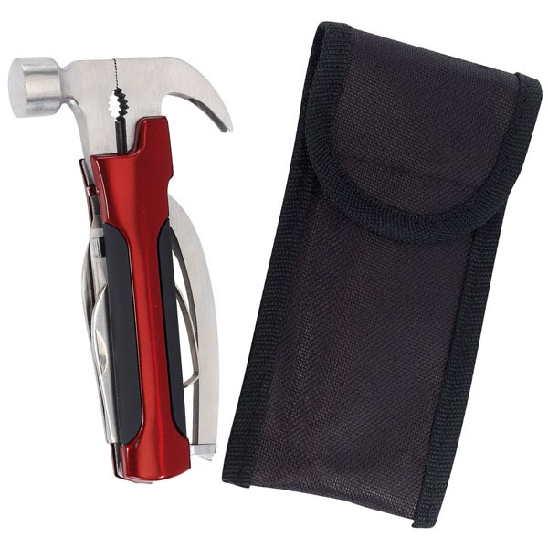 Multifunction hammer «Assistant», цвет red