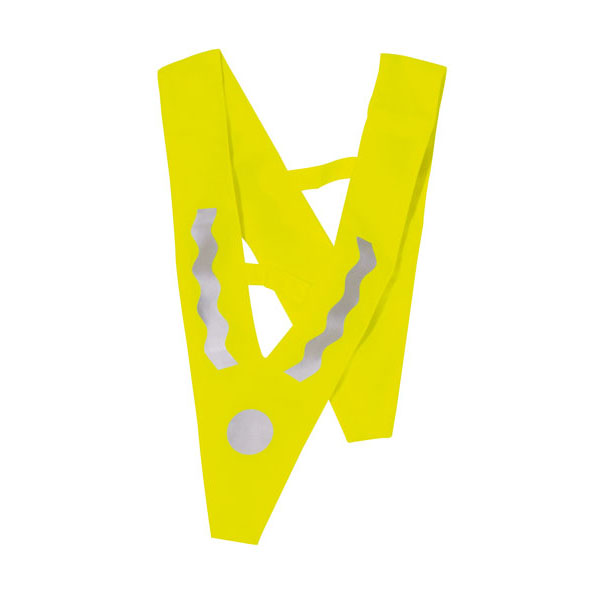 Childrens safety vest «Victory», цвет yellow silver