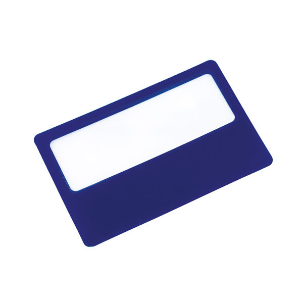 Magnifying glass «Support», цвет blue