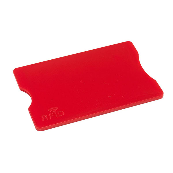 Credit card sleeve «Protector», цвет red