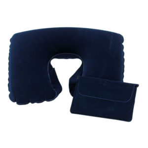 """Inflatable travel pillow """"Comfortable"""", цвет blue"""