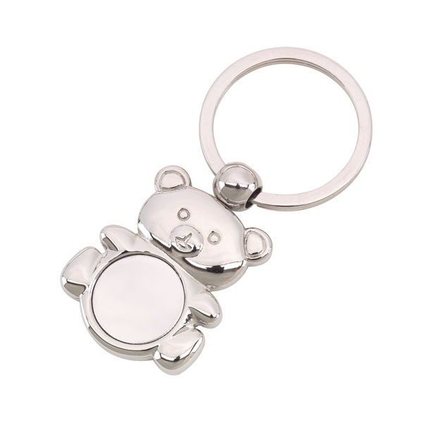 Key ring «Ted», цвет silver