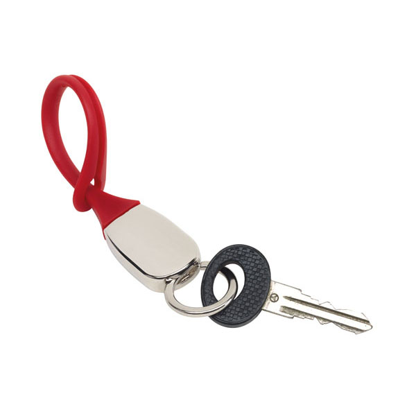 Key chain «Softie», цвет red silver