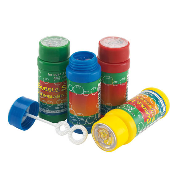 Soap bubbles «Air bubble», 4 colours assorted, price per piece, цвет red yellow green blue