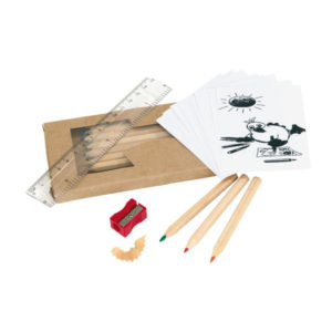 """Pencil set """"Being Busy"""", цвет brown"""