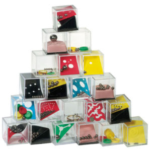 """Patience games """"Tricky thing"""", 24 pieces assorted, price per piece, цвет coloured"""