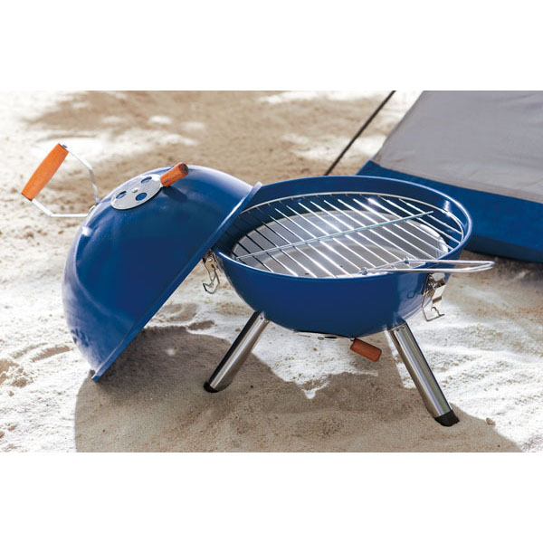 Kettle barbecue «Cookout», цвет blue