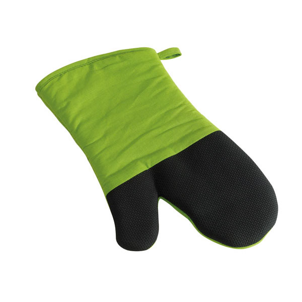 Barbecue glove «Stay cool», цвет light green black