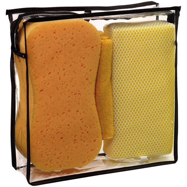 Car cleaning set «Shower», цвет yellow